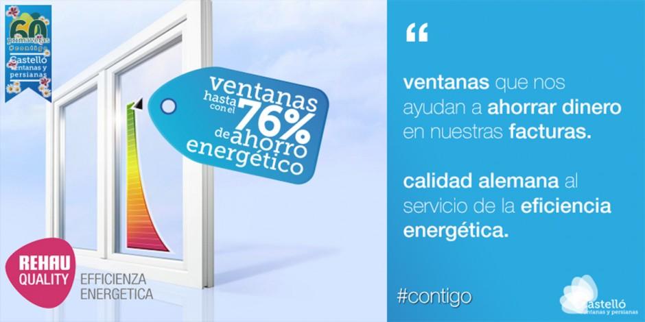 Ventanas, la eficiencia energética en nuestros hogares.