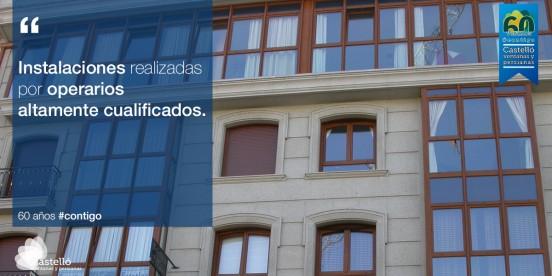 Instalación de ventanas a cargo de profesionales altamente cualificados