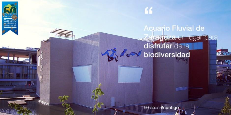 Acuario Fluvial de Zaragoza. Disfrutando de la biodiversidad