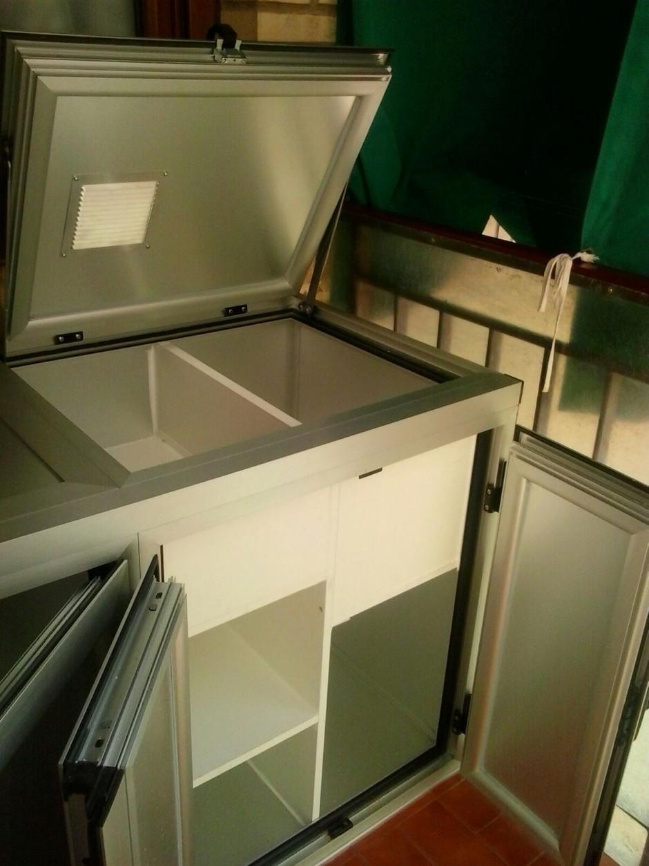 Armarios de Aluminio con diseño especial